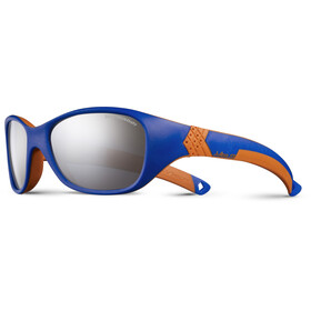 Julbo Kids 4-6Y Solan Spectron 4 Sunglasses Blue/Orange-Gray Flash Silver